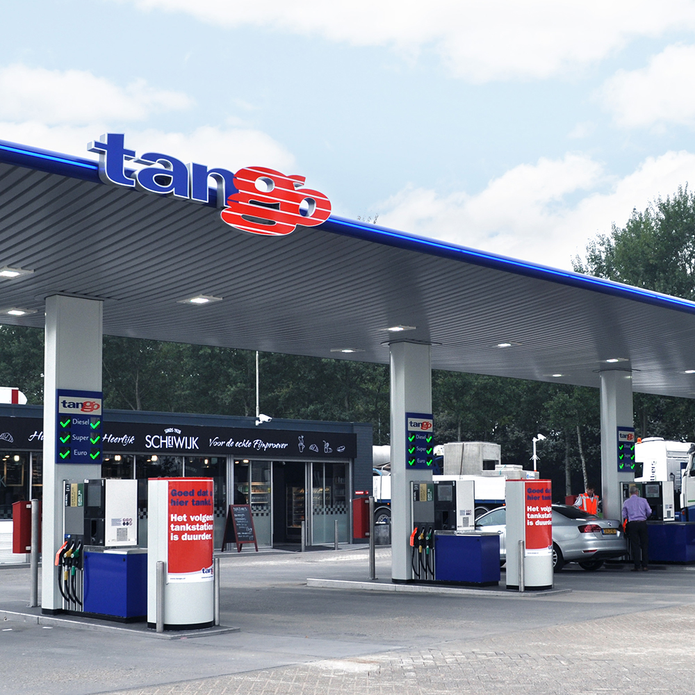 Tango Tankstations Social en (live) video campagne